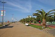 The promenade at Miracle Park, Batumi, Georgia