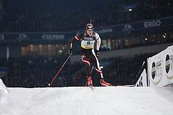28.12.2013, Veltins Arena, Gelsenkirchen, GER, IBU Biathlon, Biathlon World Team Challenge 2013, im Bild Dominik Landertinger (Oesterreich / Austria) // during the IBU Biathlon World Team Challenge 2013 at the Veltins Arena in Gelsenkirchen, Germany on 2013/12/28. EXPA Pictures © 2013, PhotoCredit: EXPA/ Eibner-Pressefoto/ Schueler<br /> <br /> *****ATTENTION - OUT of GER*****