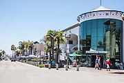 Downtown Main Street in Huntington Beach California