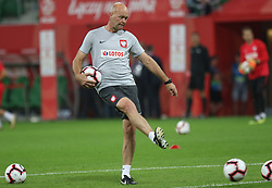 September 11, 2018 - Warsaw, Poland - Andrzej Wozniak of Poland in action during the international friendly match between Poland and Republic of Ireland at the Stadion Miejski on September 11, 2018 in Wroclaw, Poland. (Credit Image: © Foto Olimpik/NurPhoto/ZUMA Press)