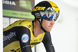 Lars Boom of Team Lotto NL Jumbo during 5th Time Trial Stage of 25th Tour de Slovenie 2018 cycling race between Trebnje and Novo mesto (25,5 km), on June 17, 2018 in  Slovenia. Photo by Vid Ponikvar / Sportida