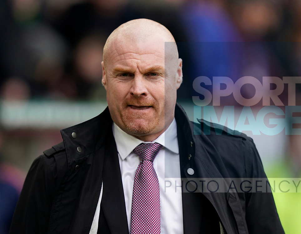 Sean Dyche manager of Burnley during the Premier League match at Turf Moor, Burnley. Picture date: 2nd February 2020. Picture credit should read: Andrew Yates/Sportimage
