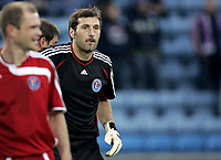 Fotball<br /> UEFA cup<br /> 2. kvalifiseringsrunde<br /> 30.08.07<br /> Ullevaal stadion<br /> Vålerenga VIF - Ekranas<br /> Ekranas keeper Bogdan Stefanovic<br /> Foto - Kasper Wikestad