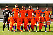 Holland team during the UEFA European Under 17 Championship 2018 match between Netherlands and Spain at the Pirelli Stadium, Burton upon Trent, England on 8 May 2018. Picture by Mick Haynes.