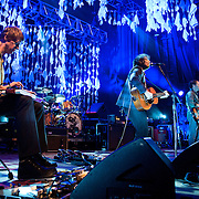 COLUMBIA, MD, -September 25th, 2011 - Wilco perform at Merriweather Post Pavilion. The band will release their eight studio album, The Whole Love, on Tuesday. (Photo by Kyle Gustafson/For The Washington Post).