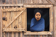Local woman<br /> South Madagascar<br /> MADAGASCAR<br /> Sandalwood paste