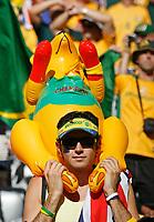 Photo: Glyn Thomas.<br />Brazil v Australia. Group F, FIFA World Cup 2006. 18/06/2006.<br /> An Australian fan with a kangaroo.