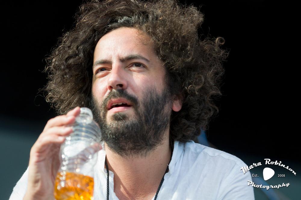 Dan Bejar of Destroyer at Pitchfork Music Festival 2011