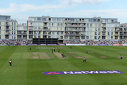 A general view of the Bristol County Ground during the T20 game between local rivals Gloucestershire v Somerset - Photo mandatory by-line: Dougie Allward/JMP - Mobile: 07966 386802 - 19/06/2015 - SPORT - Cricket - Bristol - County Ground - Gloucestershire v Somerset - Natwest T20 Blast