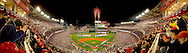 Panoramic Photograph of Opening Night of Washinton Nationals Park.  March 30. 2008. Print Size (in inches): 15x4.5; 24x7; 36x11; 48x14.5; 60x18; 72x21