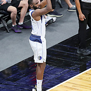 ORLANDO, FL - MARCH 01: Tim Hardaway Jr. #11 of the Dallas Mavericks attempts a three point shot against the Orlando Magic during the second half at Amway Center on March 1, 2021 in Orlando, Florida. NOTE TO USER: User expressly acknowledges and agrees that, by downloading and or using this photograph, User is consenting to the terms and conditions of the Getty Images License Agreement. (Photo by Alex Menendez/Getty Images)*** Local Caption *** Tim Hardaway Jr.