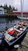 Shaw Island, Harbor, store,San Juan Islands, Puget Sound, Washington State