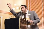 ASU Alumni Sun Devil 100 member Gabriel Shahin at 2018 ceremony