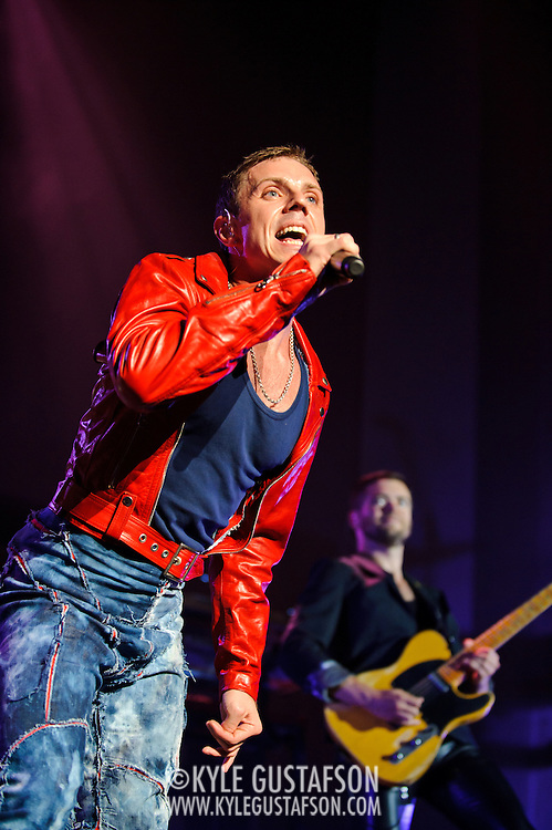 Washington, D.C. - August 23rd, 2010: Scissor Sisters perform at DAR Constitution Hall. The band is touring behind their third album, Night Work.   (Photo by Kyle Gustafson/For The Washington Post)