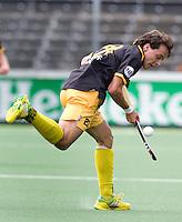 AMSTELVEEN - van Amsterdam tijdens de hockey hoofdklassewedstrijd tussen de mannen van Amsterdam en Den Bosch (5-5). COPYRIGHT KOEN SUYK