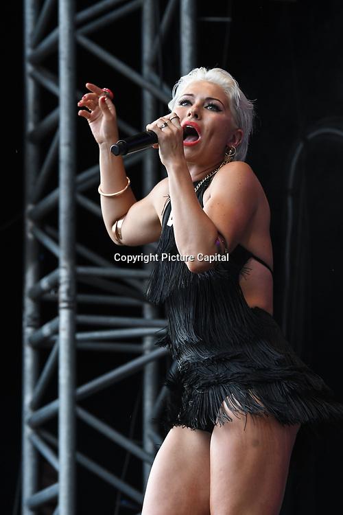 LUNA perform live at Kew The Music Festival 2018 on 13 July 2018, London, UK.