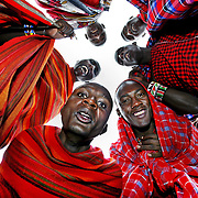 Maasai men /Kenya