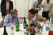 SOL  KERZNER AND BRENT HOBERMAN, Guy Leymarie and Tara Getty host The De Beers Cricket Match. The Lashings Team versus the Old English team. Wormsley. ONE TIME USE ONLY - DO NOT ARCHIVE  © Copyright Photograph by Dafydd Jones 66 Stockwell Park Rd. London SW9 0DA Tel 020 7733 0108 www.dafjones.com
