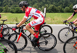 Jure Golcer (SLO) of KK Adria Mobil during Stage 2 of 24th Tour of Slovenia 2017 / Tour de Slovenie from Ljubljana to Ljubljana (169,9 km) cycling race on June 16, 2017 in Slovenia. Photo by Vid Ponikvar / Sportida