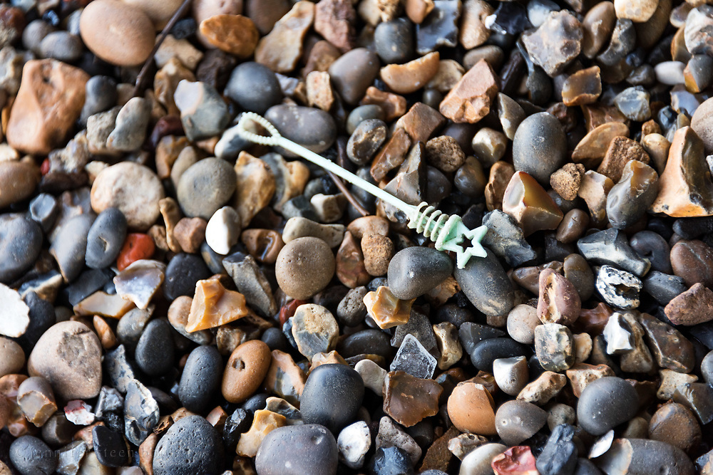 Bubble wand, Thames foreshore, Greenwich, London.