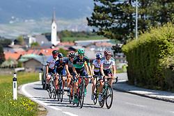 25.04.2018, Innsbruck, AUT, ÖRV Trainingslager, UCI Straßenrad WM 2018, im Bild Patrick Konrad (AUT), Gregor Mühlberger (AUT) // during a Testdrive for the UCI Road World Championships in INNSBRUCK, Austria on 2018/04/25. EXPA Pictures © 2018, PhotoCredit: EXPA/ JFK