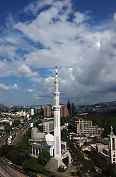 The Sheikh Ibrahim Al Ibrahim mosque is situated in the heart of downtown Caracas . The number of muslim's in Venezuela have been increasing, with the majority living in Caracas and Margarita Island.