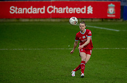 BIRKENHEAD, ENGLAND - Sunday, March 28, 2021: Liverpool's Meikayla Moore during the FA Women's Championship game between Liverpool FC Women and Blackburn Rovers Ladies FC at Prenton Park. The game ended in a 1-1 draw. (Pic by David Rawcliffe/Propaganda)