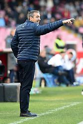 December 23, 2017 - Naples, Italy - Head coach of UC Sampdoria Marco Gianpaolo during the Serie A TIM match between SSC Napoli and UC Sampdoria at Stadio San Paolo Naples Italy on 23 December 2017. (Credit Image: © Franco Romano/NurPhoto via ZUMA Press)