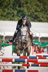 Van Asten Leopold (NED) - VDL Groep Quinthago Z<br /> Winner Final 5 years old horses<br /> World Championship Young Horses Lanaken 2009<br /> Photo© Dirk Caremans