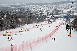 "Pohorje course during FIS Alpine Ski World Cup 7th Ladies' Giant Slalom race named ""49th Golden Fox 2013"", on January 26, 2013 in Mariborsko Pohorje, Maribor, Slovenia. (Photo By Vid Ponikvar / Sportida.com)"