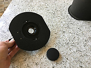 Omega D2 Enlarger - flat lens board with 135mm Beslar lens.