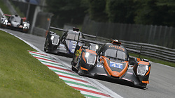 May 11, 2019 - Monza, MB, Italy - RLR MSPORT (Farano, B. Senna and Maini) entering fast Ascari chicane in Monza during the Free Practice Session 2 of ELMS italian round. (Credit Image: © Riccardo Righetti/ZUMA Wire)