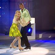 NLD/Hilversum/20060818 - Opname RTL Sterren Dansen op het IJs, Joao Varela met schaatspartner Kristina Savenkova