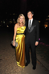 TESS DALY and VERNON KAY at the End of Summer Ball in support of The Prince's Trust in Berkeley Square, London on 25th September 2008.