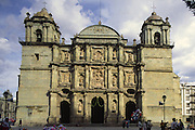 The Catherdal, Oaxaca, Mexico<br />
