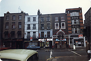 Old amateur photos of Dublin streets churches, cars, lanes, roads, shops schools, hospitals south william st, dublin civic museum, mercey hospital, south kings st, olympia dame st, fiat mirafiori estate 131 may 1984