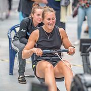 Emma Twigg  Race #19  01:45pm <br /> <br /> www.rowingcelebration.com Competing on Concept 2 ergometers at the 2018 NZ Indoor Rowing Championships. Avanti Drome, Cambridge,  Saturday 24 November 2018 © Copyright photo Steve McArthur / @RowingCelebration