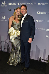 Piers Beckwith and  Josephine Kime at the Boodles Boxing Ball, in association with Argentex and YouTube in Support of Hope and Homes for Children at Old Billingsgate London, United Kingdom - 7 Jun 2019 Photo Dominic O'Neil