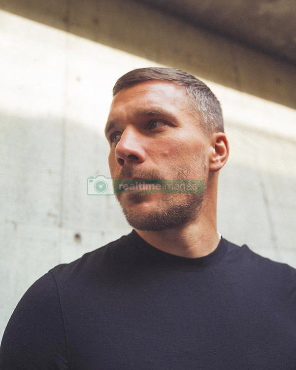 """Lukas Podolski releases a photo on Twitter with the following caption: """"""""Look forward good things will happen #staypositive #fight 🙌🏻⚽️💪🏻"""""""". Photo Credit: Twitter *** No USA Distribution *** For Editorial Use Only *** Not to be Published in Books or Photo Books ***  Please note: Fees charged by the agency are for the agency's services only, and do not, nor are they intended to, convey to the user any ownership of Copyright or License in the material. The agency does not claim any ownership including but not limited to Copyright or License in the attached material. By publishing this material you expressly agree to indemnify and to hold the agency and its directors, shareholders and employees harmless from any loss, claims, damages, demands, expenses (including legal fees), or any causes of action or allegation against the agency arising out of or connected in any way with publication of the material."""