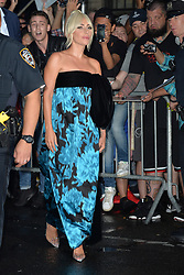 October 4, 2018 - New York, NY, USA - October 4, 2018 New York City..Lady Gaga at the 'The Late Show with Stephen Colbert' in New York City on October 2, 2018. (Credit Image: © Kristin Callahan/Ace Pictures via ZUMA Press)