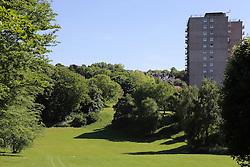 Woodthorpe park and flats, Nottingham.