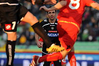 "Antonio Di Natale (Udinese).<br /> Udine, 7/02/2010 Stadio ""Friuli""<br /> Udinese-Napoli.<br /> Campionato Italiano Serie A 2009/2010<br /> Foto Nicolò Zangirolami Insidefoto"
