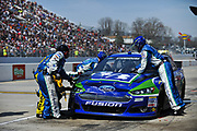 May 6, 2013 - NASCAR Sprint Cup Series, STP Gas Booster 500. Ricky Stenhouse Jr.