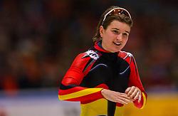 04-01-2003 NED: Europees Kampioenschappen Allround, Heerenveen<br /> 3000 meter dames / Daniela Anschutz GER