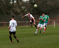 Football East Cowes Vics in Action