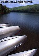 Canoes, NE PA Lake, Poconos