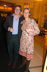 JOHN & ANOUSKA AYTON of Links of London at a reception for the winners of the 2006 Veuve Clicquot Award - Business Woman of the Year held at Claridge's Hotel, brook Street, London on 27th April 2006.  This years winner was Vivienne Cox, BP CEO for Gas, Power, Renewables and Integrated Supply & Trading.  The awards were presented by the Rt.Hon.Gordon Brown MP - The Chancellor of the Exchequer.<br />