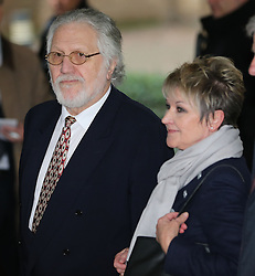 Dave Lee Travis gives a statement after being cleared of 12 counts of indecent assault. Jury failed to reach verdicts on two other charges,  Southwark Crown Court, London, United Kingdom. Thursday, 13th February 2014. Picture by Stephen Lock / i-Images