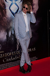 Jamie Campbell Bower during 'The Mortal Instruments: City of Bones' premiere at Callao cinema in Madrid, Spain, Thursday 22nd August, 2013. Photo by Ivan L. Naughty / DyD Fotografos / i-Images.<br /> SPAIN OUT