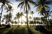 Porto Seguro_BA, Brasil...Acampamento nas proximidades de Trancoso, Bahia...The camping near Trancoso, Bahia...Foto: LEO DRUMOND / NITRO